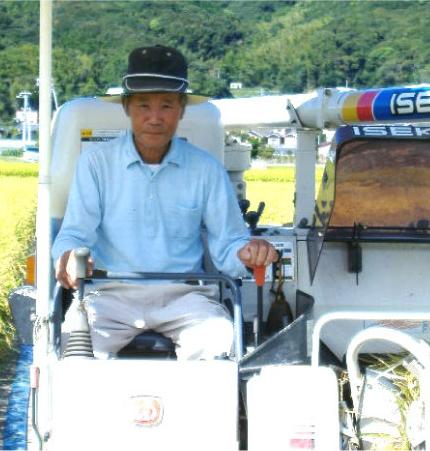 キヌヒカリ生産者 田淵さん