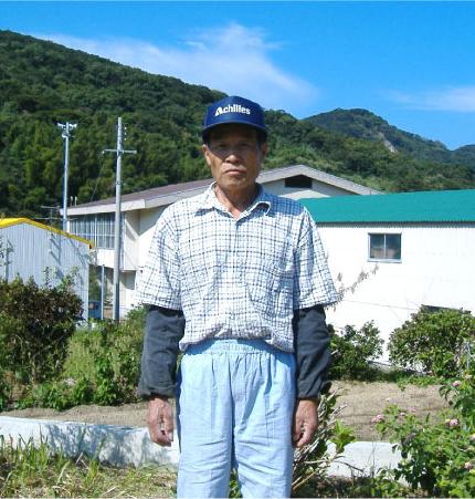キヌヒカリ生産者 立花さん
